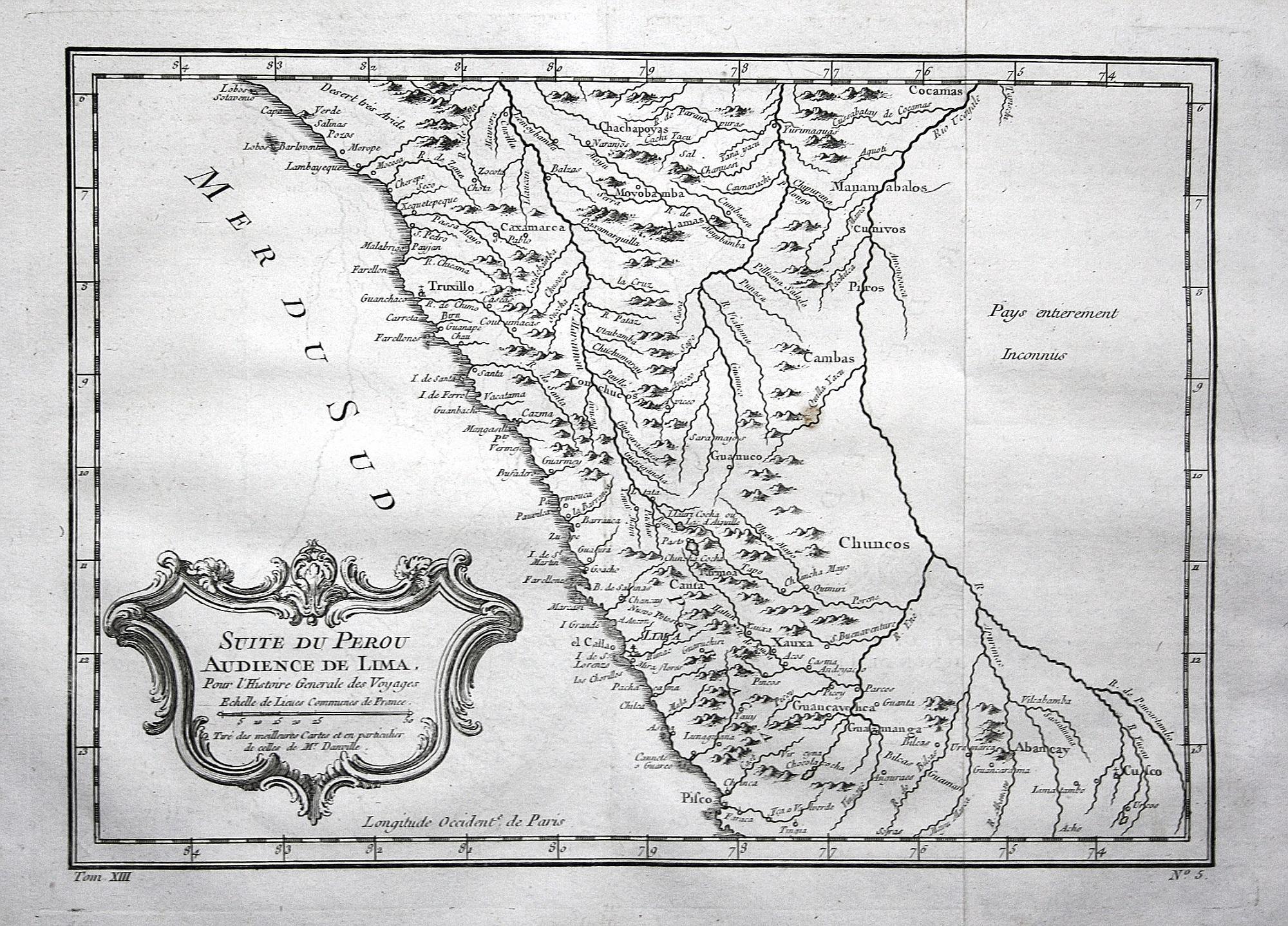 Peru Karte.Suite Du Perou Audience De Lima Peru Lima Trujillo Pisco Karte