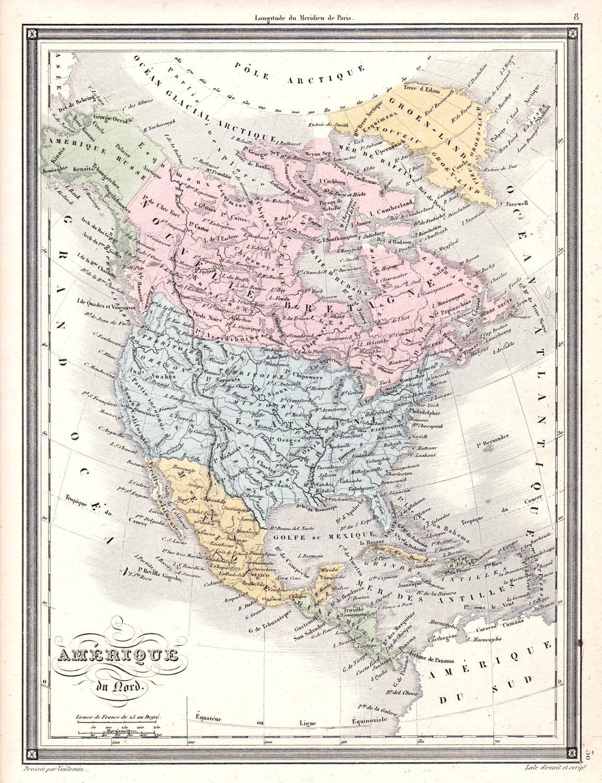 Amerique du Nord\