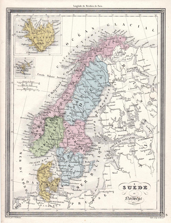 Suede et Norwege