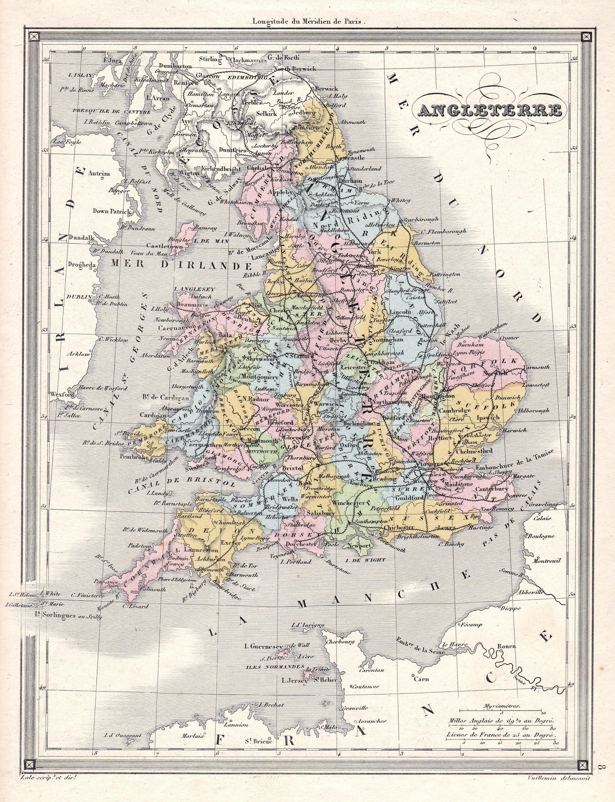 Karte London.Angleterre