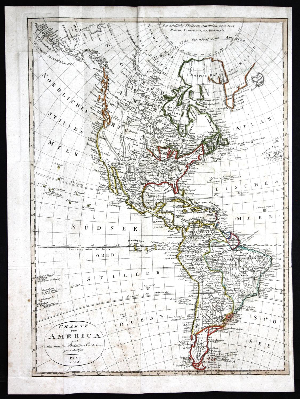 Charte von America