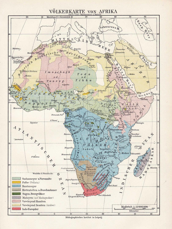 Madagaskar Karte.Volkerkarte Von Afrika