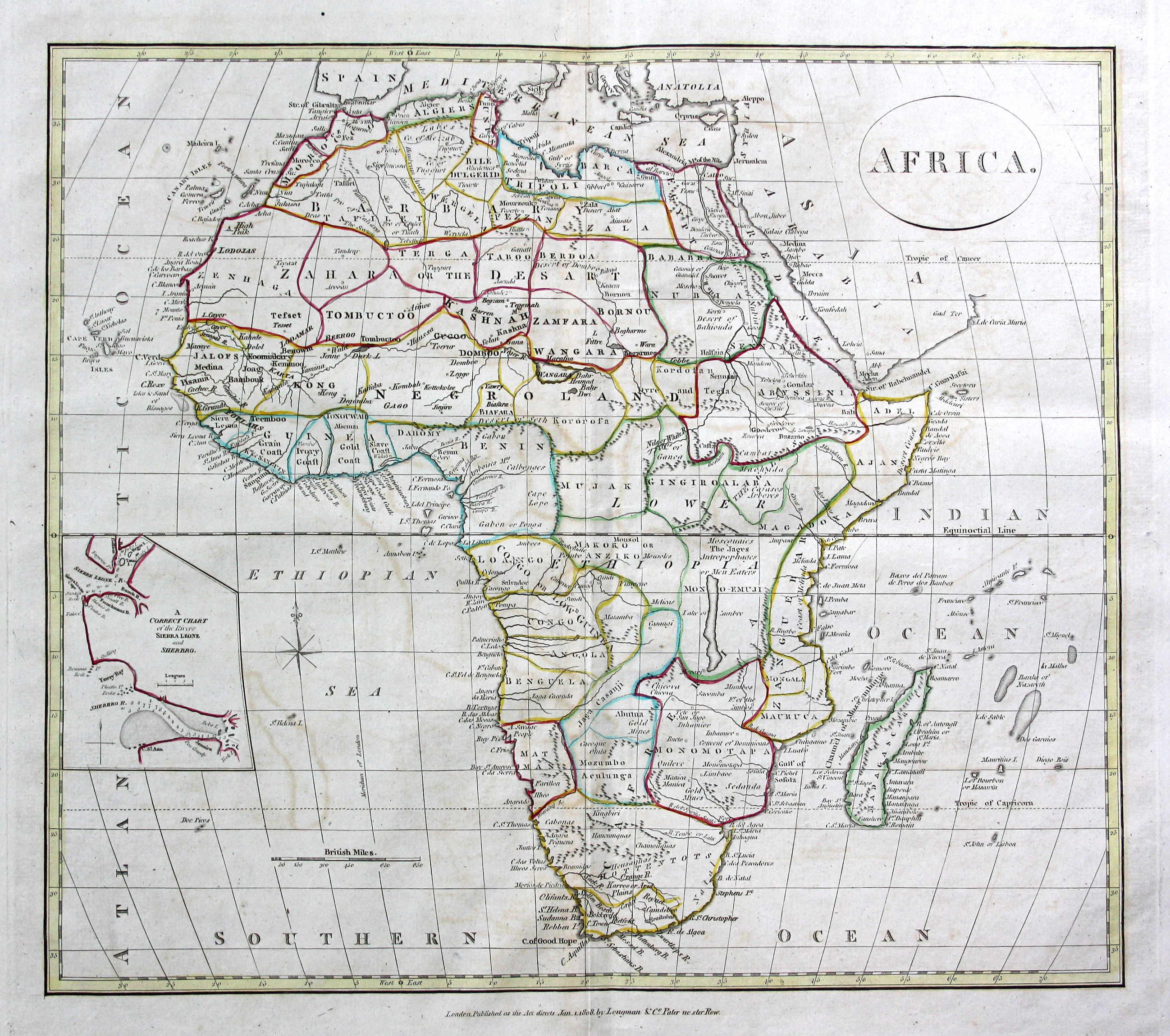 Madagaskar Karte.Africa