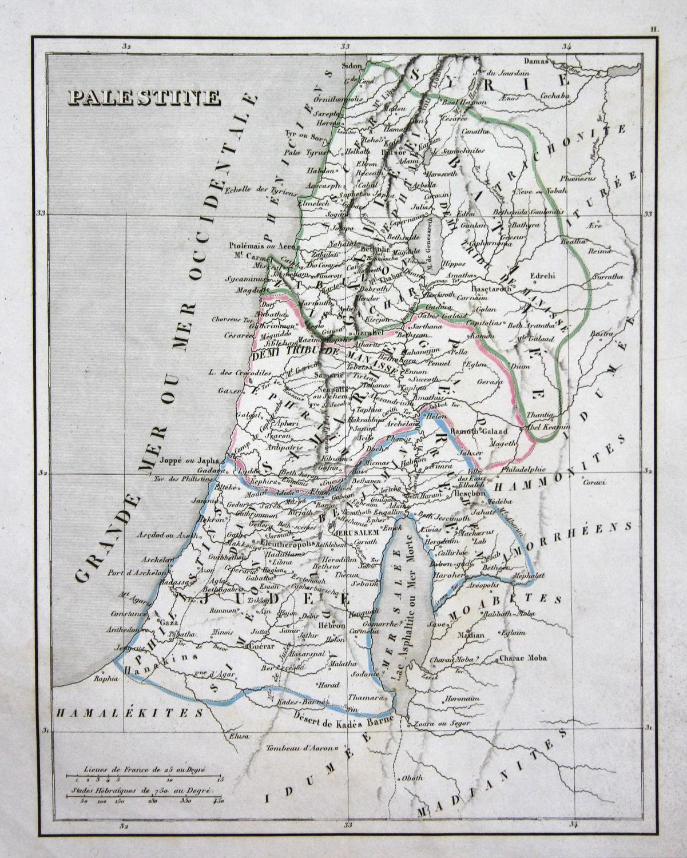 jerusalem israel engraving - ZVAB
