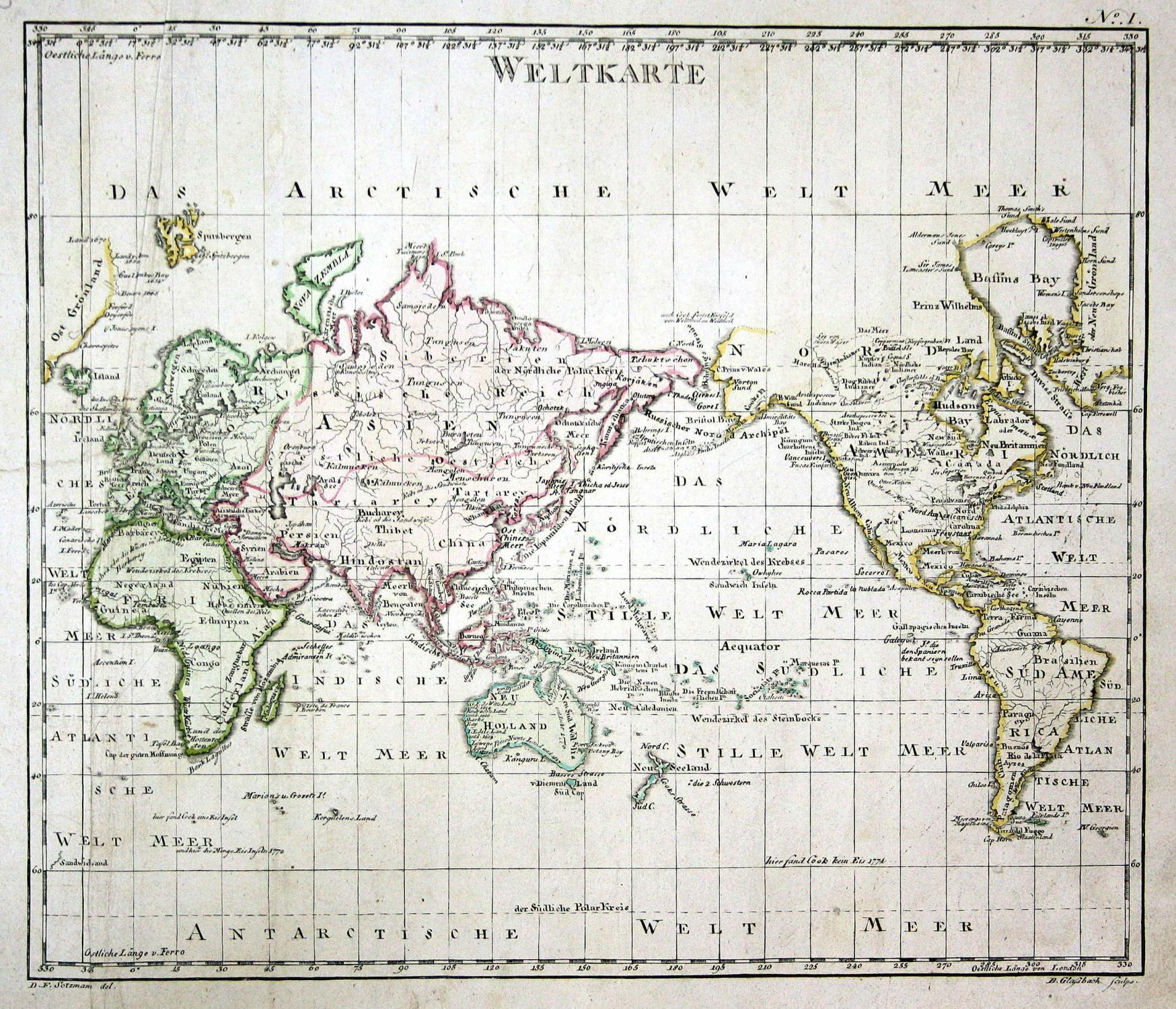 Weltkarte\