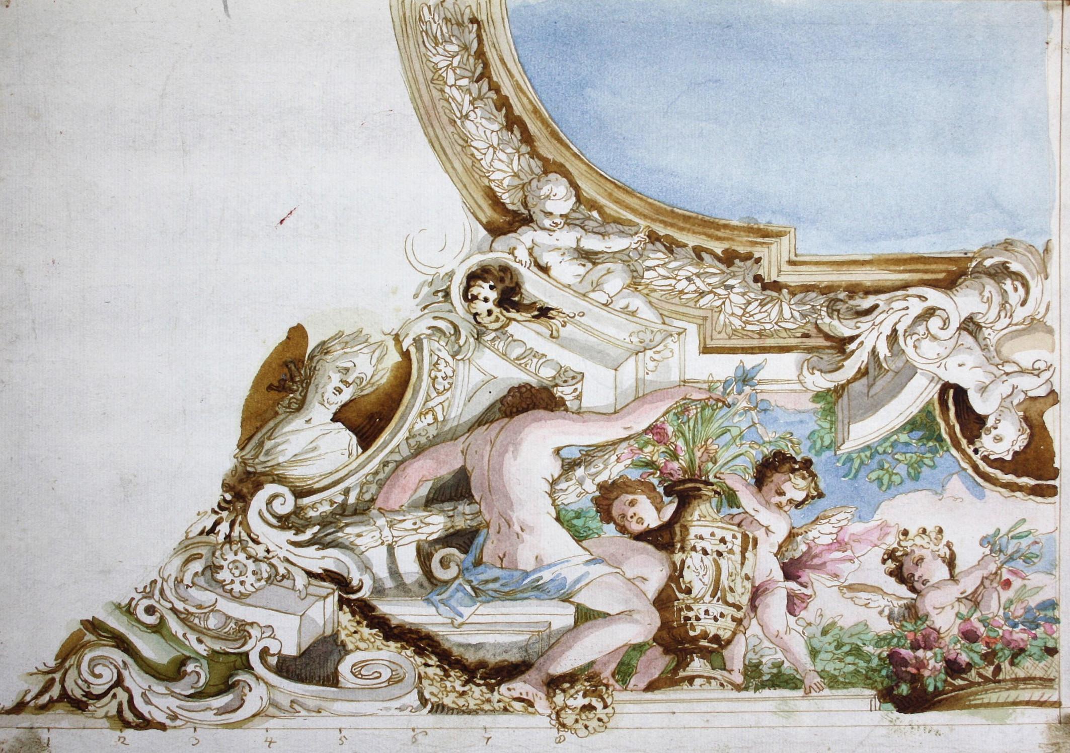 Das Om Holz ca.18 x 15 cm Wandrelief