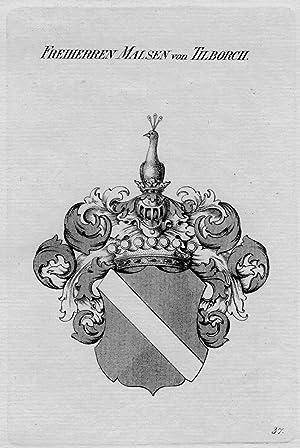 Malsen Tilborch Wappen Adel coat of arms