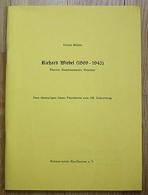 Ulrich Müller - Richard Wiebel Pfarrer Kunstsammler
