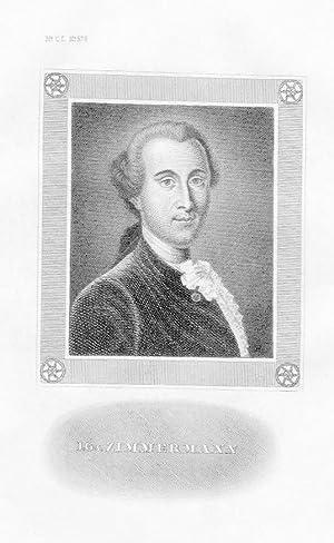 Johann Georg Ritter von Zimmermann Arzt Original