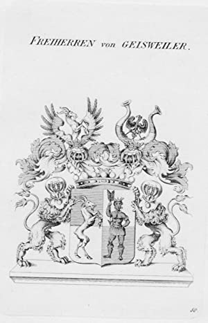 Geisweiler Wappen Adel coat of arms heraldry