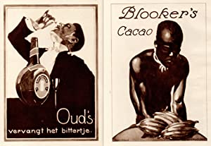 Ludwig Hohlwein Reklame Werbung Plakate Oud Blooker's Cacao