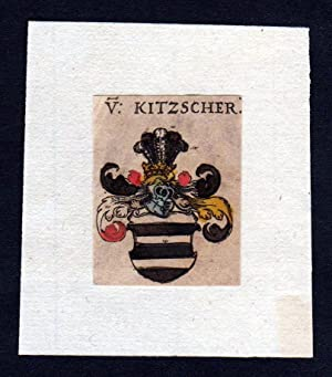 h. von Kitzscher Wappen coat of arms
