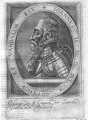 Johann I. of Denmark Norway Sweden Portrait