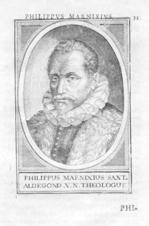 Philippe van Marnix St. Aldegonde Leiden Portrait
