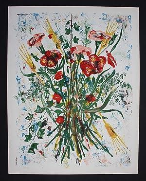 Sigfrido Maovaz original lithograph signed Lithographie signiert