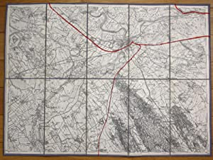 Raab Györ Kony Tenyo Rabapatona Hungary Ungarn Karte map
