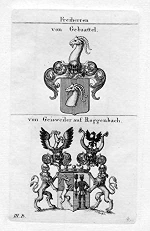 Gebsattel / Geisweiler Roggenbach / Bayern -