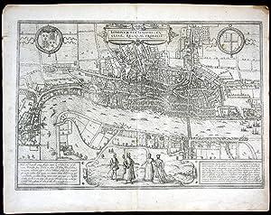 "Londinum feracissimi Angliae regni Metropolis"" - London: Hogenberg, Frans und"