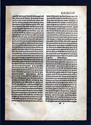 Blatt CCXVII Inkunabel Vita Christi Zwolle incunable Dutch Holland
