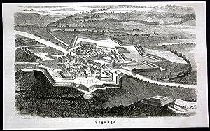 "Legnago"" - Legnago Plan map carta Ansicht"