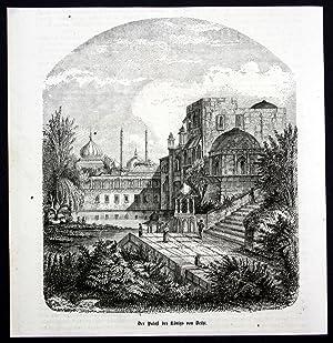 """Der Palast des Königs von Delhi"""" -"""