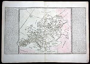 """Lacs Fleuves Rivieres et Principales Montagnes d'Europe"""": Clouet, Jean Baptiste"""