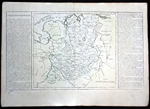 "Cercle de Westphalie"" - Hamburg Bremen Osnabrück: Clouet, Jean Baptiste"