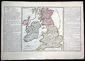 """Des Isles Britanniques"""" - Great Britain Enland: Clouet, Jean Baptiste"""