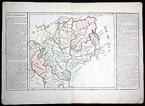 """De la Tartarie"""" - Tartary Russia Caucasus: Clouet, Jean Baptiste"""