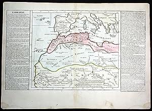 "Barbarie"" - Mediterranean Sea Spain Morocco Italy: Clouet, Jean Baptiste"