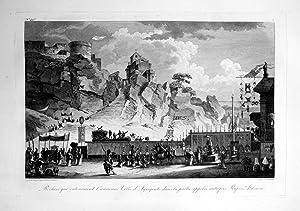 """Rochers qui entouraient l'ancienne Ville d'Agrigente ."""": Saint Non, Jean"""