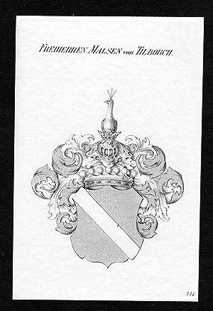 """Freiherren Malsen von Tilborch"""" - Malsen Malsen-Tilborch: Artist/Künstler, Anonym:"""