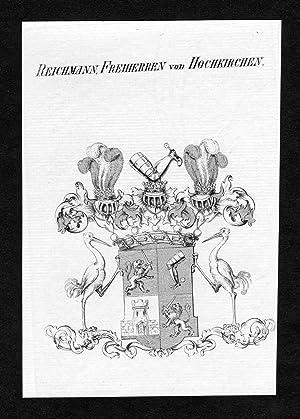 """Reichmann, Freiherren von Hochkirchen"""" - Reichmann von: Artist/Künstler, Anonym:"""