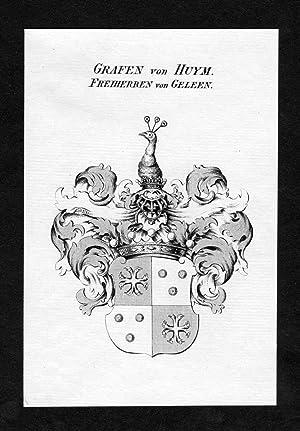 """Grafen von Huym - Freiherren von Geleen"""": Artist/Künstler, Anonym:"""