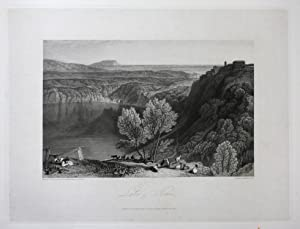 "Lake of Nemi"" - Lago di Nemi: Hakewill, James:"
