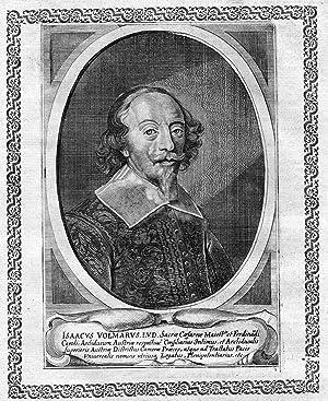 """Isaacus Volmarus"""" - Isaak Volmar Baron von: Artist/Künstler, Anonym:"""