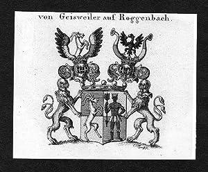 """Von Geisweiler auf Roggenbach"""" - Geisweiler auf: Artist/Künstler, Anonym:"""