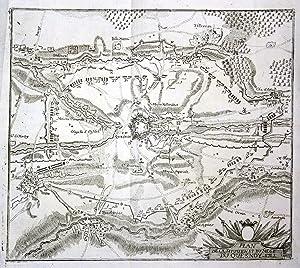 Plan de la Situation et du Siege: Merian, Matthaeus: