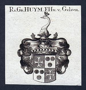 "Rs. Gr. Huym, F. Hn. v. Geleen"": Artist/Künstler, Anonym:"