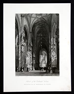 "Interior of the Cathedral Vienna"" - Stephansdom: Challis, E. und"