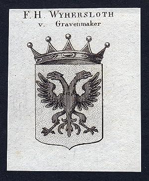 "F.H. Wyhersloth v. Gravenmaker"" - Wyhersloth von: Artist/Künstler, Anonym:"