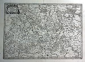 """Saxoniae susperiouris Lusatiae Misniaeque descriptio"""" - Sachsen: Janssonius, Johannes und"""