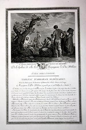 "St. Jean prechant dans le desert"" -: Bloemaert, Abraham und"