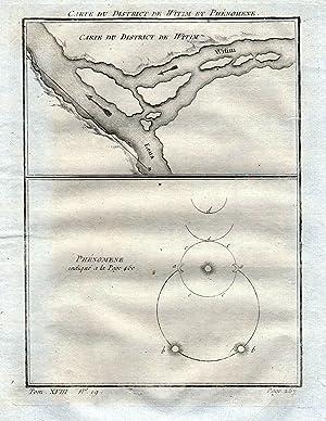 "Carte du district de Witim et Phenomene"": Bellin, Jacques-Nicolas:"
