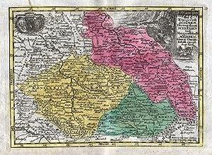 """Das Königreich Böhmen. Schlesien."""" - Bohemia Böhmen: Kilian, Georg Christoph:"""