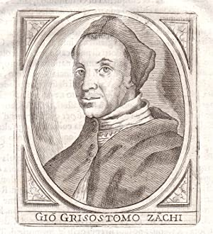 """Gio Girostomo Zachi"""" - Giovanni Crisostomo Zanchi: Portrait:"""