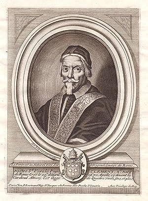 """Nostre St. Perete Pape Clement X"""" -: de Larmessin, Nicolas:"""