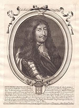 Dom Pedro prince regent de Portugal &: de Larmessin, Nicolas: