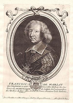 "Francois de Harlay de Chanvallon"" - Francois: de Larmessin, Nicolas:"