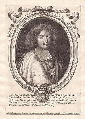 """Emanuel Theodose de la Tour d'Auvergne"""" -: de Larmessin, Nicolas:"""